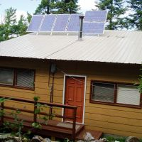 Solar Powered Cabins