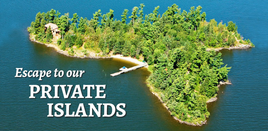 Escape to Private islands