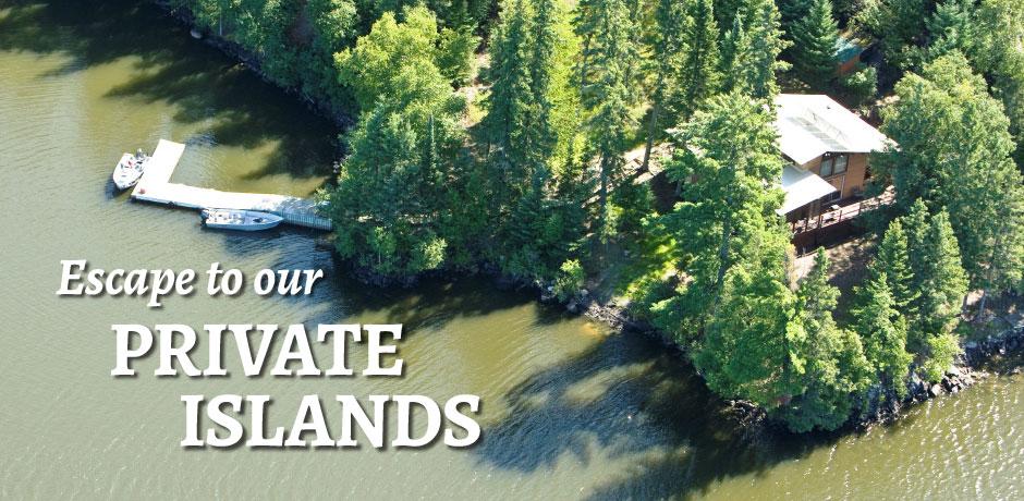Escape to Private islands