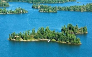 cloverleaf island